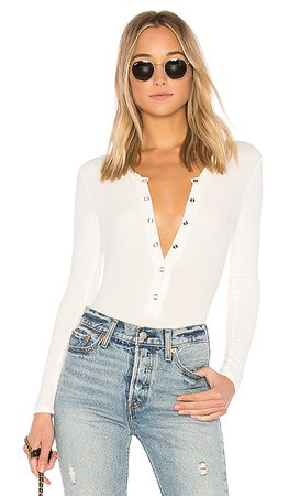 Privacy Please Peoria Bodysuit in Ivory | REVOLVE