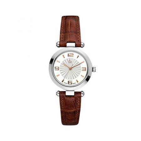 Watches | Shop Women's Guess Brown Quartz Analog Watch at Fashiontage | X17001L1-268977
