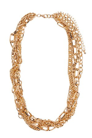 Chunky Chain-Link Necklace | Forever 21