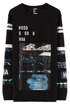 Pinterest Hood By Air Layered Graphic L/S T-Shirt (Black) | Mens fashion ...