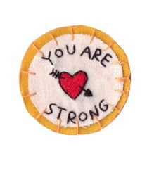 YOU ARE STRONG patch