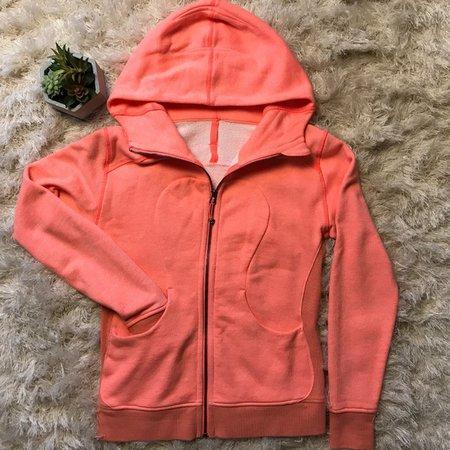 Grapefruit Colored Jacket