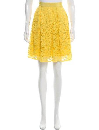 Alberta Ferretti Lace A-Line Skirt - Clothing - ALB26553 | The RealReal
