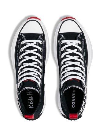 Converse x Keith Haring Run Star Hike Sneakers - Farfetch