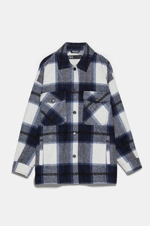 CHECK OVERSHIRT | ZARA Egypt