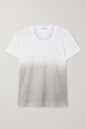 Boy Ombre Cotton-jersey T-shirt - White