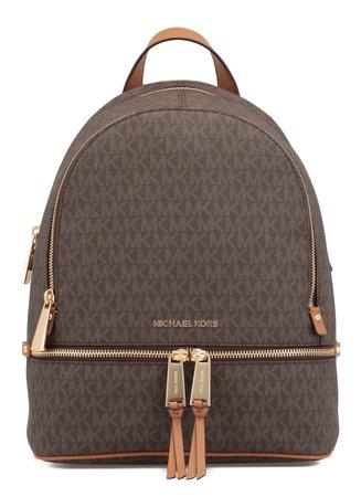 Michael Kors Medium Rhea Backpack With Logo