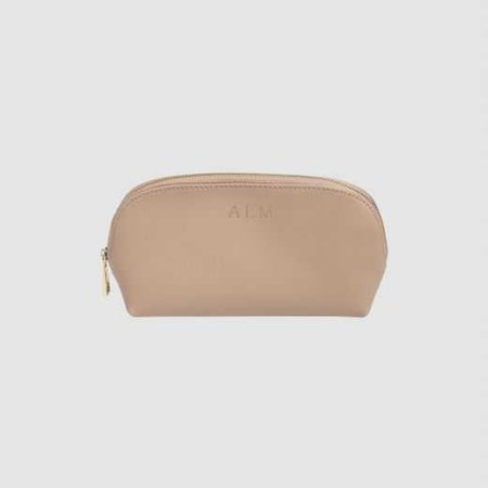Taupe Large Cosmetic Case