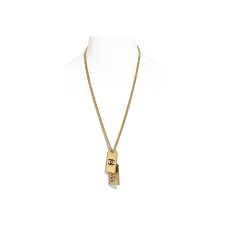 Metal Gold Necklace | CHANEL