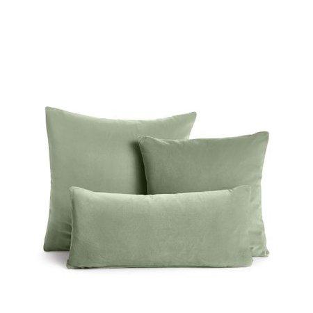 sage green pillow