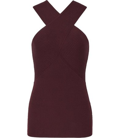 Dana Berry Cross Front Top – REISS