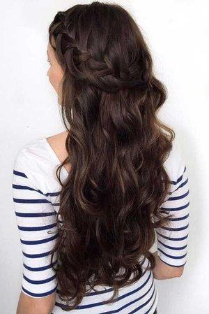 Brown Hair Braid