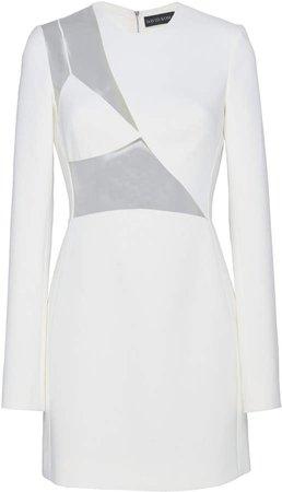 Asymmetrical Cutout Mini Dress