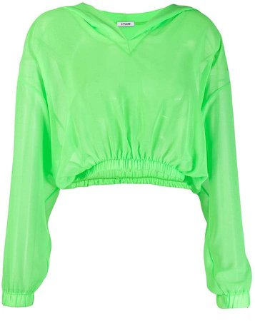 Styland cropped hoodie