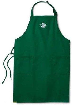 Amazon.com: Starbucks Coffee Company Barista Apron, Green, Size No Size: Home & Kitchen