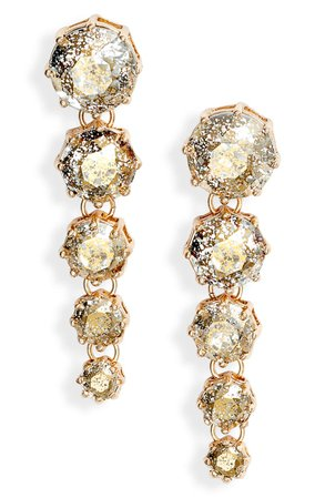 Rachel Parcell Cascading Linear Earrings (Nordstrom Exclusive) | Nordstrom