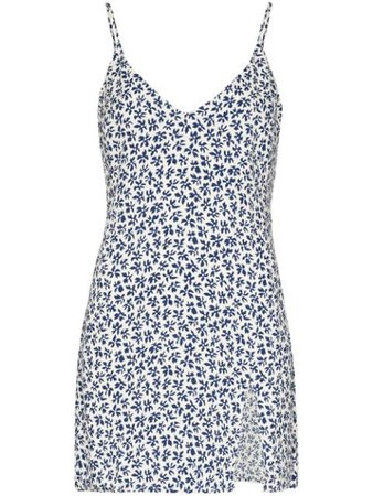 Reformation Marlowe floral-print Mini Dress - Farfetch