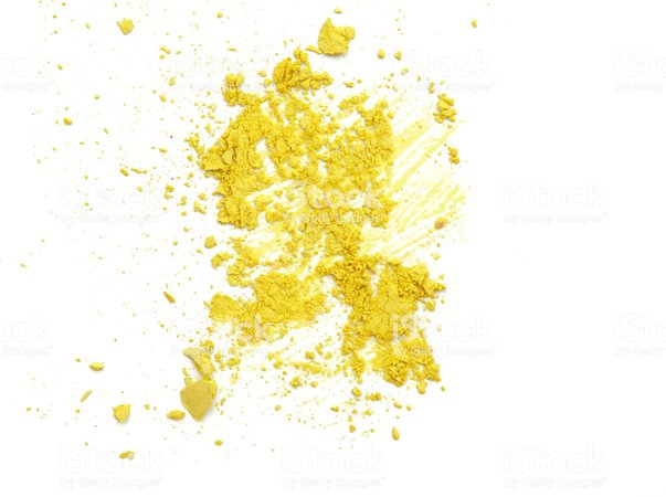 yellow powdered background