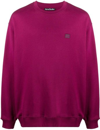Cotton Long-Sleeve Sweatshirt