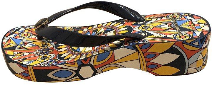 Multicolour Plastic Sandals