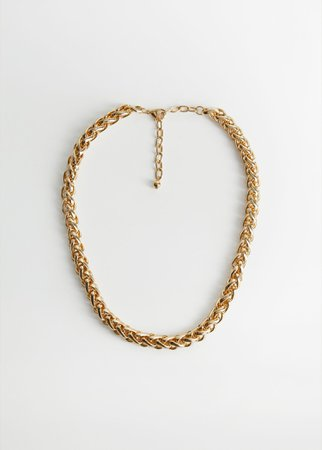 Metal chain necklace - Women   Mango USA