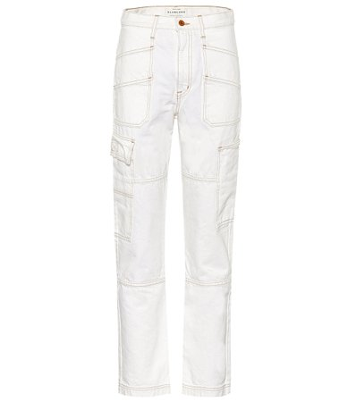 Savior High-Rise Cargo Jeans - Slvrlake | Mytheresa