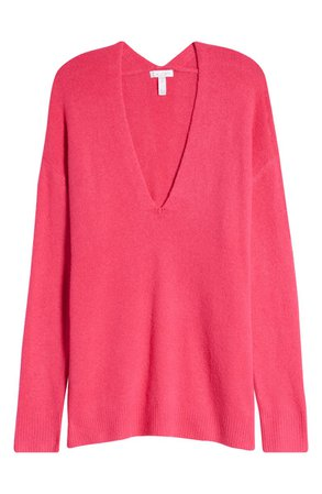Leith Cozy V-Neck Sweater | Nordstrom