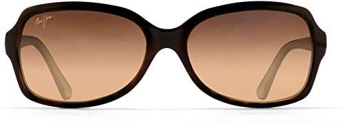 Amazon.com: Maui Jim Women's Cloud Break Sunglasses, Tortoise/Peacock Blue/HCL Bronze Polarized, Medium: Maui Jim: Clothing