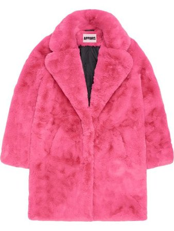 Apparis Sasha faux-shearling Coat - Farfetch