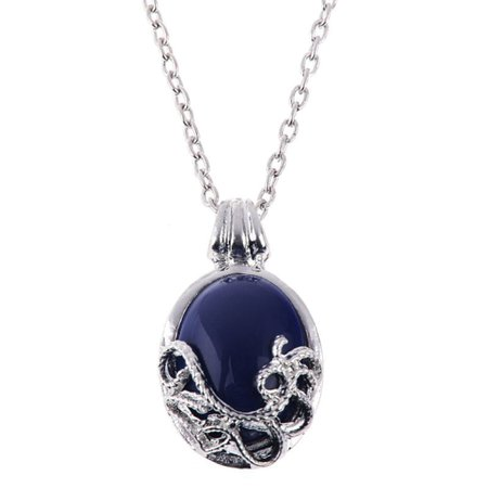 The Vampire Diaries Vampire Natural Lapis Katherine Pierce Necklace Katerina Petrova Pendant Necklace - Buy Online in El Salvador. | Jewelry Products in El Salvador - See Prices, Reviews and Free Delivery over US$70.00 | Desertcart