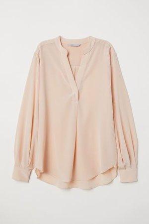 Silk Blouse - Apricot | H&M