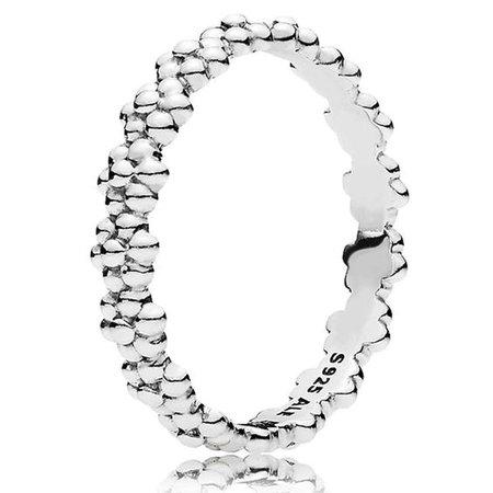 Pandora Ring of Daisies Ring