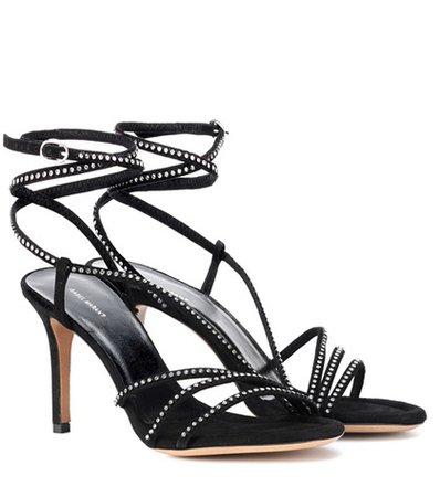 Ampsee crystal embellished sandals