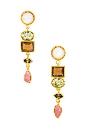 Lizzie Fortunato Horus Earrings in Multi | REVOLVE