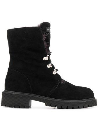 Giuseppe Zanotti Chunky Heel Boots I97000100808 Black | Farfetch