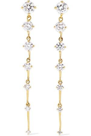 Fernando Jorge | Sequence 18-karat gold diamond earrings | NET-A-PORTER.COM