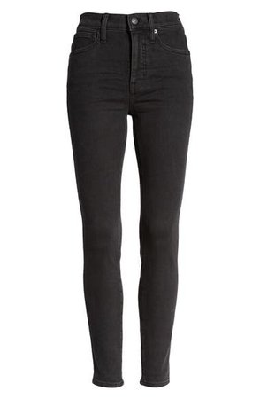 Madewell 10-Inch High Waist Ankle Skinny Jeans (Starkey) | Nordstrom