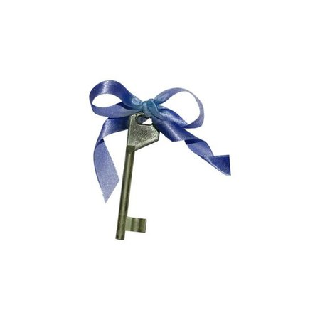 Key with ribbon