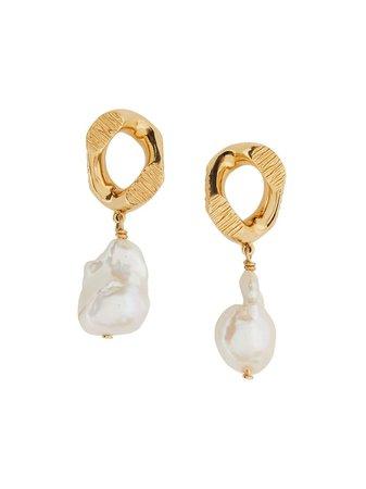 Burberry chain-link Earrings - Farfetch