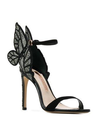 Sophia Webster butterfly embellished sandals SS20 | Farfetch.com