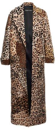 Tom Ford Printed Fur Coat