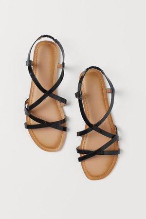 Sandals - Black - Ladies | H&M GB