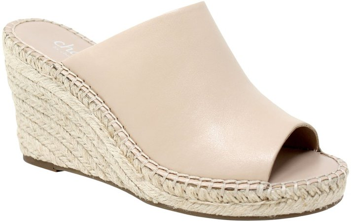 Nautical Espadrille Wedge Sandal