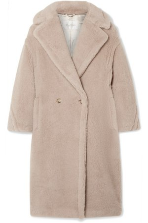 Max Mara | Teddy Bear alpaca-blend coat | NET-A-PORTER.COM