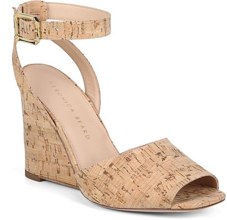 Cyndi Ankle Strap Wedge Sandal