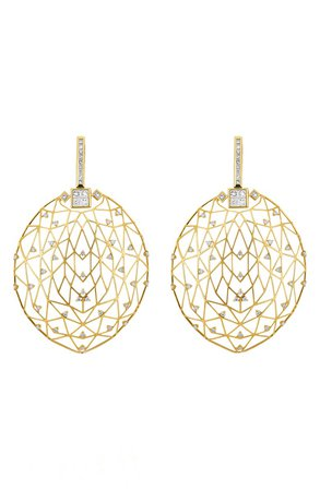 Hueb Estelar Oval Drop Earrings | Nordstrom