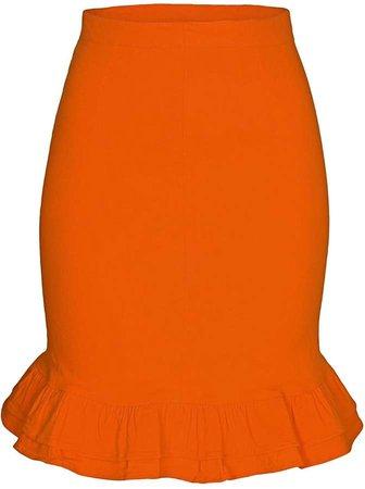 Imaima Tiana Skirt In Orange