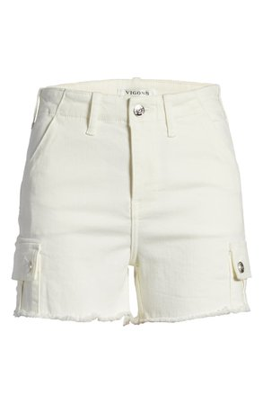 Vigoss High Waist Cutoff Cargo Shorts | Nordstrom