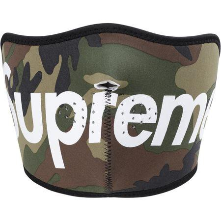 Supreme Neoprene Face Mask Camo – CURATEDSUPPLY.COM