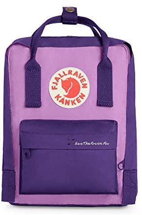 Amazon.com   Fjallraven - Save the Arctic Fox Mini Kanken Backpack for Everyday, Purple/Orchid   Casual Daypacks